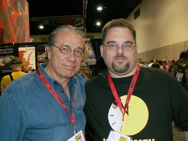 Dan and Edward James Olmos