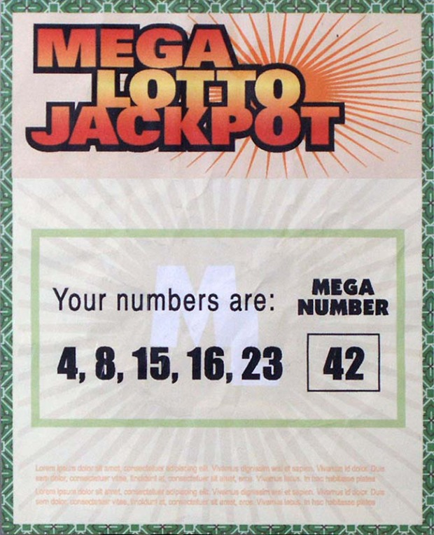 Lost Hurley's Lottery Ticket