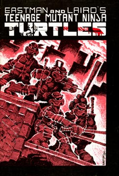 Twenty-five years? It all started in 1984 with the first issue by Kevin Eastman and Peter Laird, with an initial print run of 3,000 B&W comics.