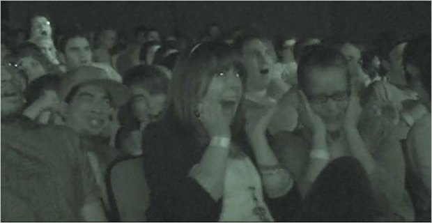 Paranormal Activity Audience Reaction