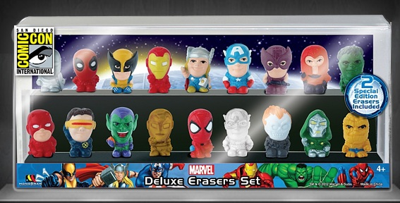 San Diego Comic Con 2012 Exclusive #53: Monogram 18 Piece Marvel