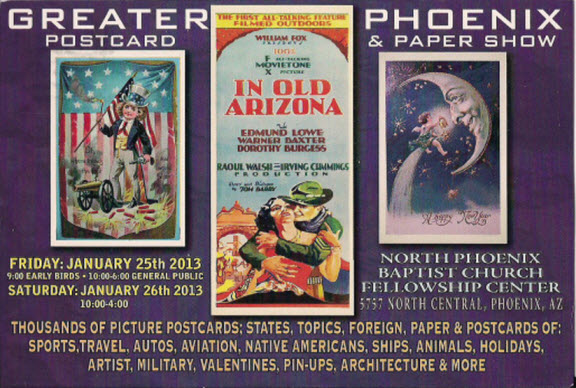 Phoenix Postcard and Paper Show 2013