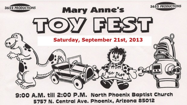 Mary Anne's Toy Fest 2013