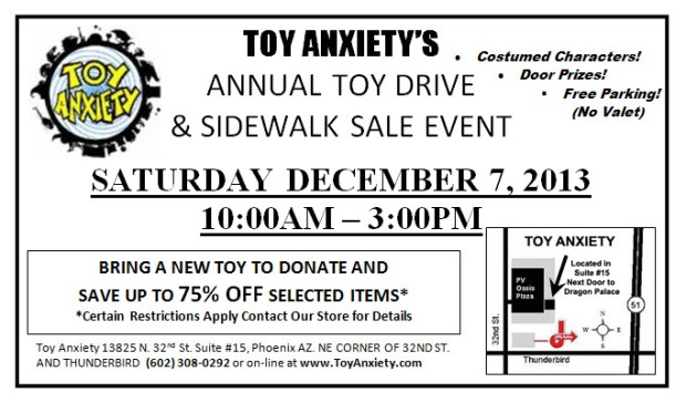 Toy Drive 2013 Flyer