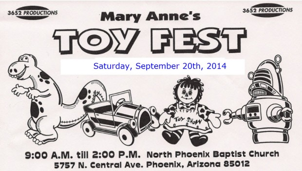 Mary Annes Toy Fest 2014